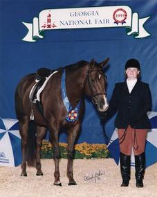 In Clover- GQHA Circuit Champion  Am. Hunseat Pleasure & Equitation